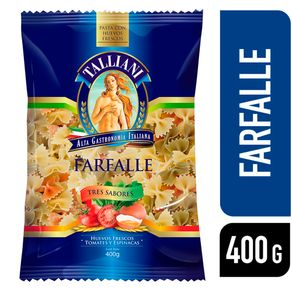 Pasta-farfalle-Talliani-tres-sabores-400-g