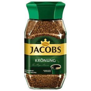 Cafe-instantaneo-liofilizado-Jacobs-kronung--frasco-100-g