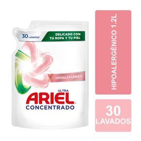 Detergente-liquido-Ariel-concentrado-pouch-hipoalergenico-doypack-1.2-L