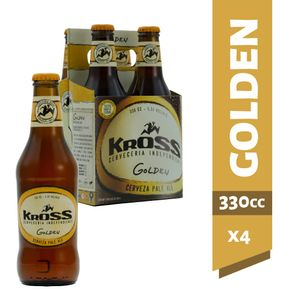 Pack-Cerveza-Kross-golden-ale-botella-4-un-de-330-cc