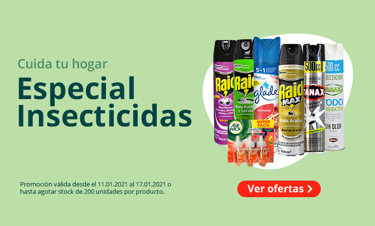 Especial Insecticidas