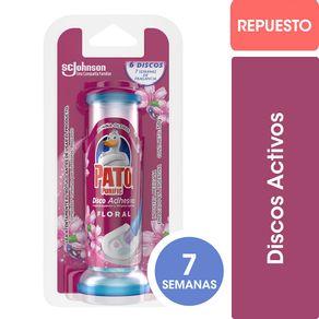 Disco-adhesivo-Pato-Purific-floral-repuesto-6-un