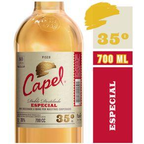 Pisco-Capel-especial-35°-botella-700-cc