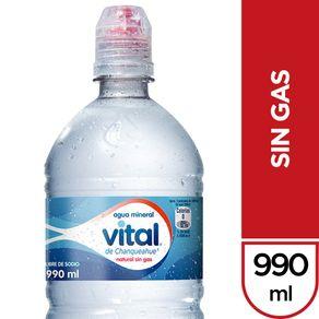 Agua-mineral-Vital-sport-sin-gas-botella-990-ml