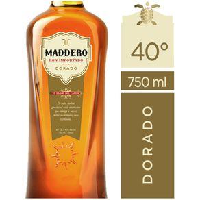 Ron-Maddero-dorado-40°-botella-750-cc