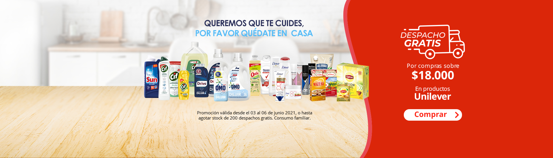 DG Unilever perfumeria