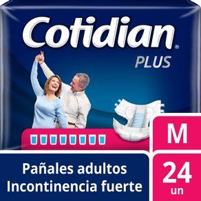 Pañal-desechable-Cotidian-Plus-M-24-un