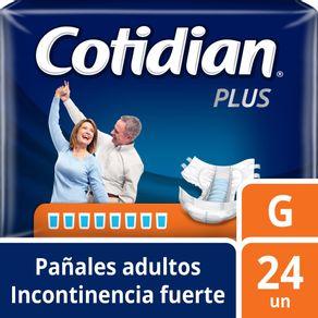 Pañal-Desechable-Cotidian-Plus-G-24-un