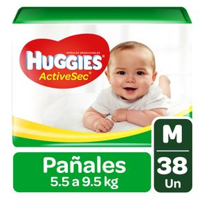 Pañal-Active-Sec-M-Huggies-42-Un