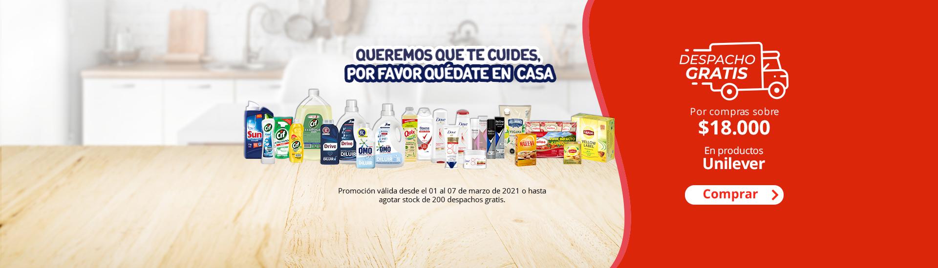 DG Unilever limpieza
