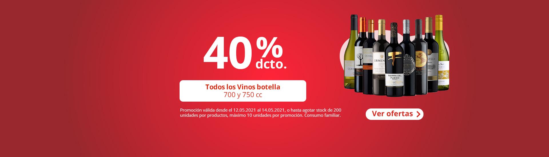 Vinos 40%