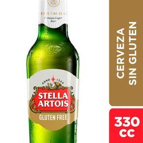 Cerveza-Stella-Artois-sin-gluten-botella-330-cc