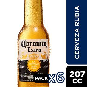 Pack-Cerveza-Coronita-botella-6-un-de-207-cc