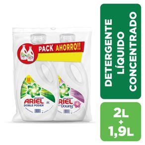 Pack-detergente-Ariel-liquido--2-L---1.9-L