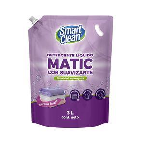 Detergente-liquido-Smart-Clean-con-suavizante-doypack-3-L