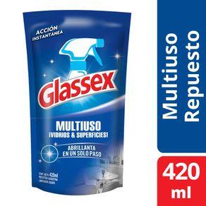 Limpiador-Glassex-multiuso-doy-pack-420-ml
